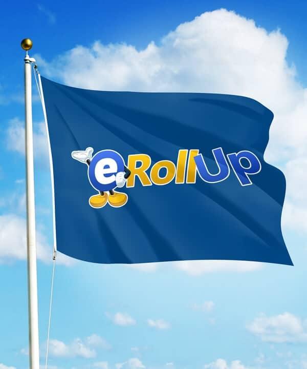 rollup Rollup och mässmaterial på 24 timmar till Sveriges lägsta priser. flagga 600