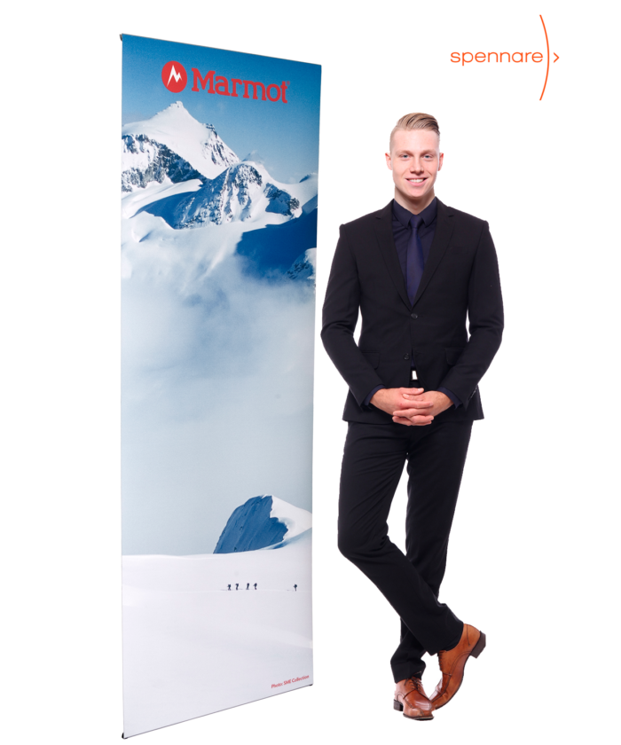 rollup mini Banner Display Banner Stand S10 700x840