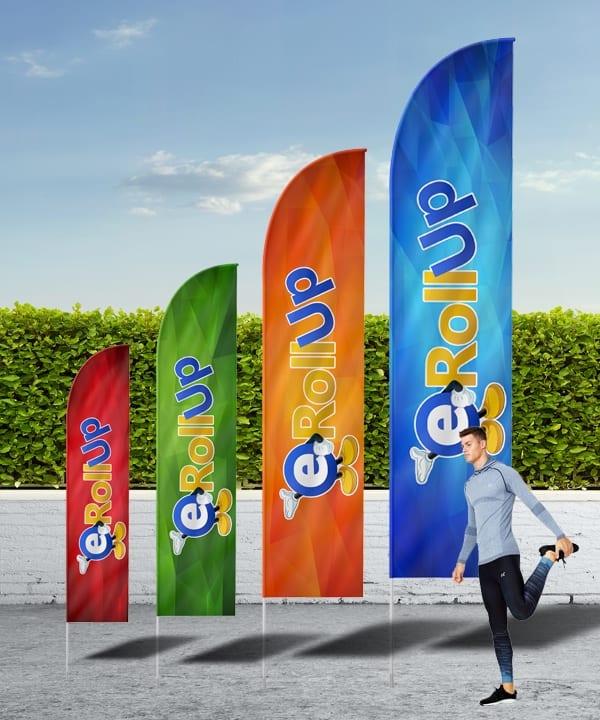 utomhusprodukter Utomhusprodukter beachflaggor hajfena 600 2