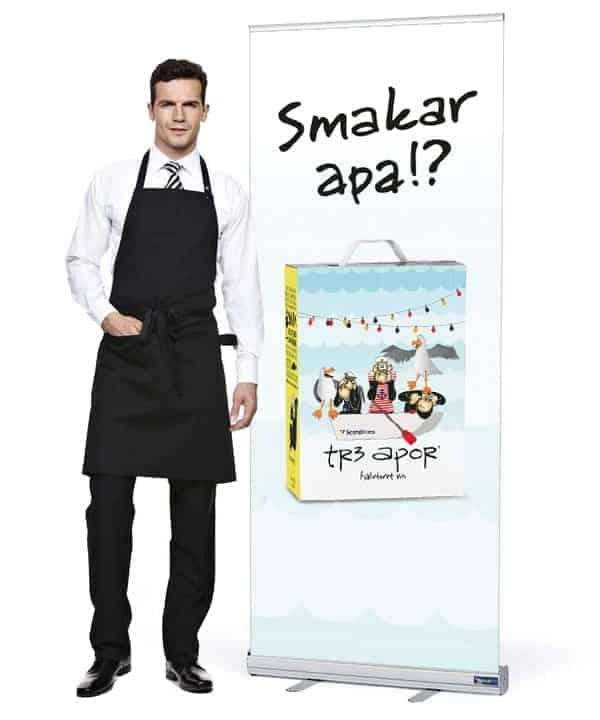 rollup Rollup och mässmaterial på 24 timmar till Sveriges lägsta priser. rollup ekonomi waiter