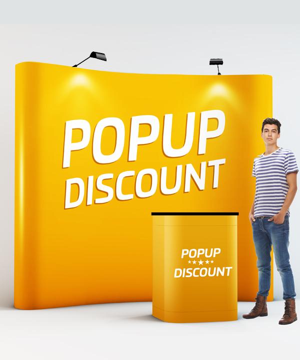 popup discount PopUp Discount komplett mässmonter Popup Discount 720