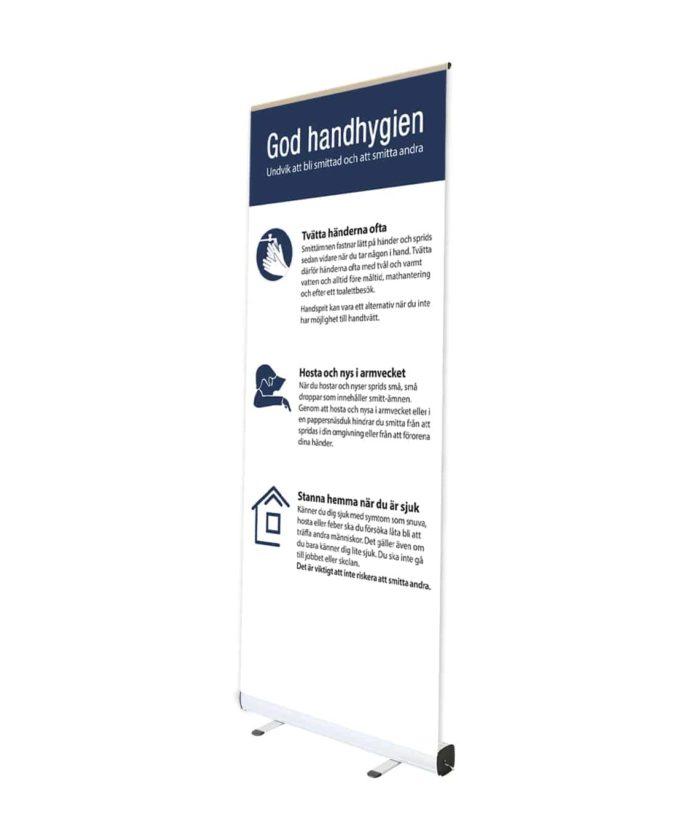 affisch Standardprodukter god handhygien 700x840