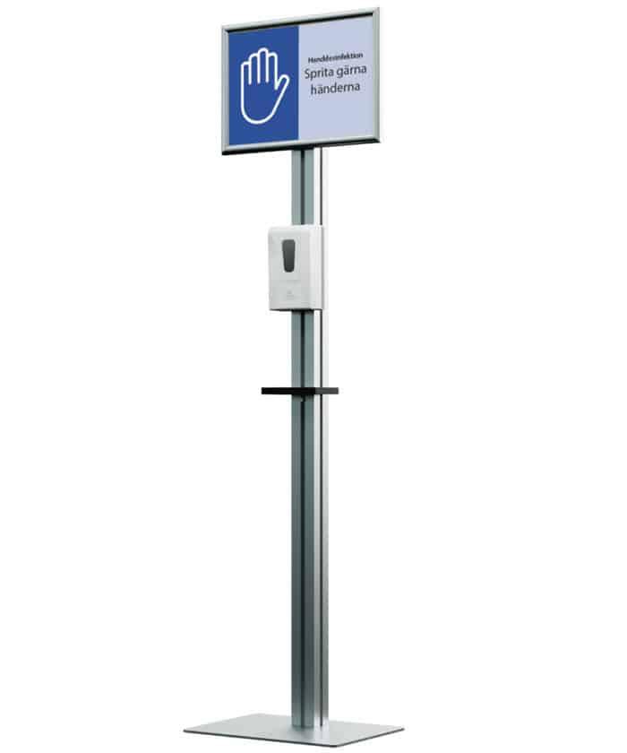 affisch produkter-anpassade-for-covid-19 handspritsautomat automatisk 700x840