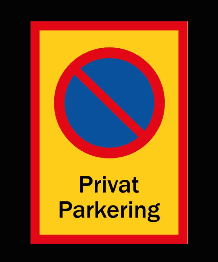 [object object] Skyltar skylt pakering f  rbjuden privat parkering 700x840